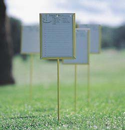 Standard Golf Proximity Markers-carton of 4 by Standard Golf (Image #1)