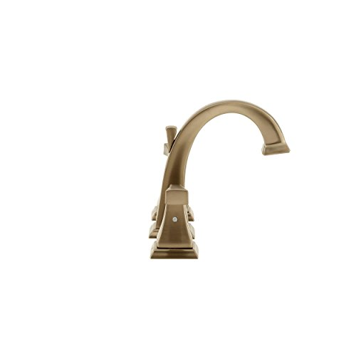 Delta 3551LF-CZ Dryden 2-Handle Widespread Bathroom Faucet with Metal Drain Assembly, Champagne Bronze by DELTA FAUCET (Image #5)