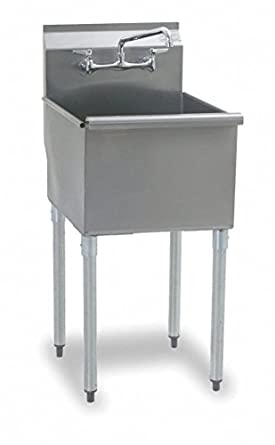 Utility Sink, Stainless Steel, Stainless