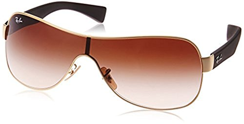 Ray-Ban Emma RB 3471 Sunglasses Arista / Brown Gradient 32mm & HDO Cleaning Carekit - Used Ray Ban