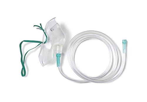 Medline HCSU4600B MASK, OXYGEN, MED. CONCEN, PED, With 7' TUB, U (Case of 50) by Medline