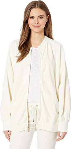 Juicy Couture Women's Velour Beverly Jacket Angel Small