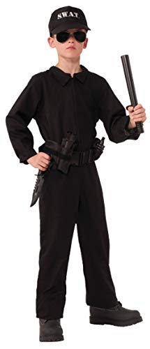 Child SWAT Special OPS Police Officer Cop NCIS Costume]()