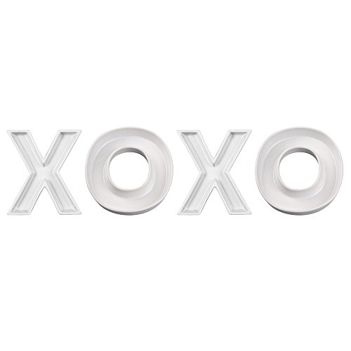 Ivy Lane Design Decorative Ceramic Dish Set, XOXO 3 -