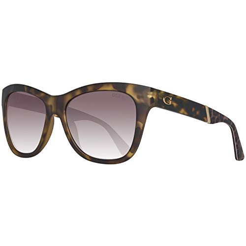GUESS Women's GU7472 Dark Havana/Gradient Brown One Size (Sonnenbrille Damen Guess)