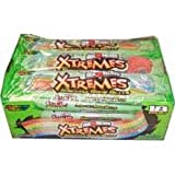 Perfetti Van Melle Xtreme Rainbow Berry Sweetly Sour Belt Airhead -- 216 per case.