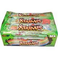 Perfetti Van Melle Xtreme Rainbow Berry Sweetly Sour Belt Airhead -- 216 per case. by Perfetti Van Melle