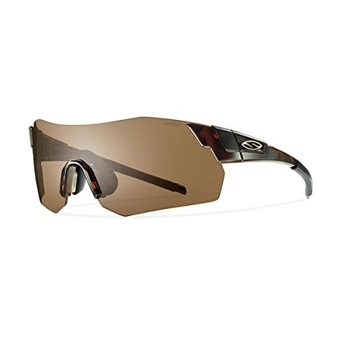 Smith Optics Pivlock Arena Max Sunglass with Brown, Ignitor, Clear Carbonic TLT Lenses, - Glasses Smith Cycling