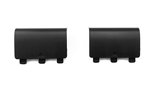 yueton 2pcs Replacement Battery Shell Repair Part for Xbox One Controller