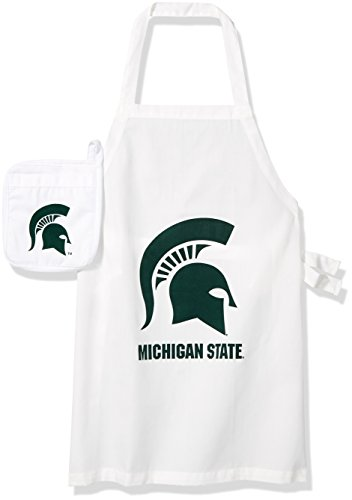 Ncaa Tailgating (NCAA Michigan State Spartans Tail Gate Kit Apron &)
