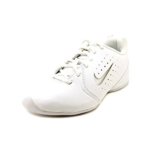Nike Women's Sideline III Insert White/White/Pure Platinum Training Shoe 7 Women US - Cheerleading Shoes Nike