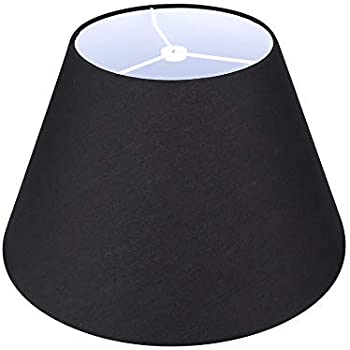 Mainstays Accent Shade Solid Black Amazon Com
