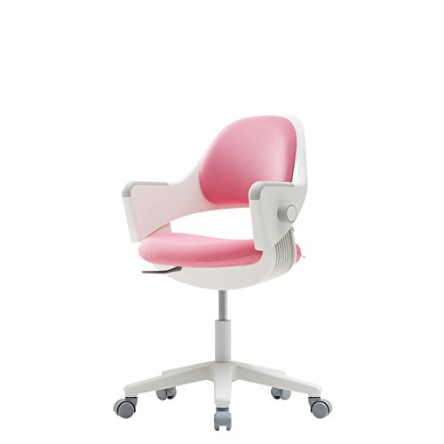 sidiz NEW Ringo Kids Desk Chair Growing Adjustable [Fixed type] (Fabric_Pink_F573L) by SIDIZ