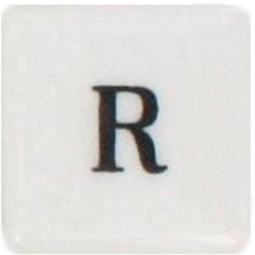 (HomArt Porcelain Square Box, Alphabet)