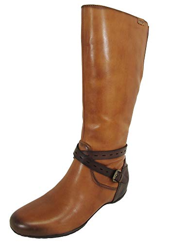 (PIKOLINOS Womens Venezia 968-9593 Boot Shoe, Brandy/Olmo, 38 M EU / 7.5-8 M US )