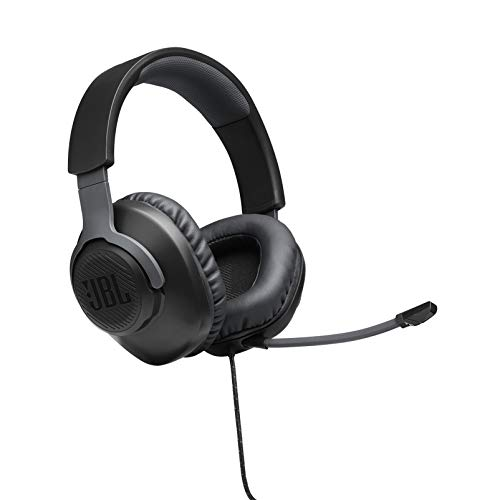 auriculares gamer over ear JBL Quantum 100, negro
