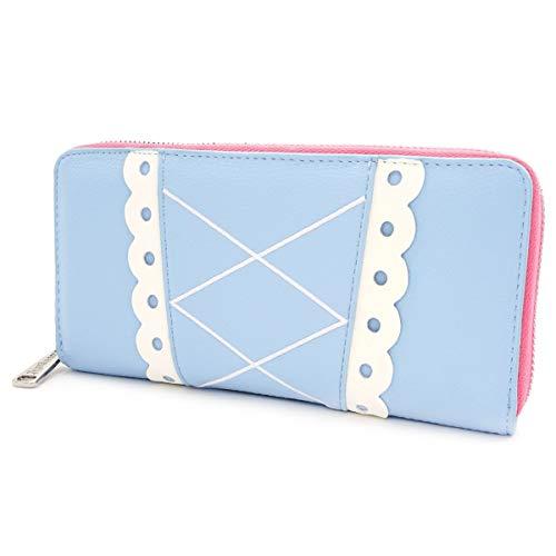 Loungefly x Disney Pixar Toy Story Bo Peep Cosplay Zip Around Wallet (Blue, One Size)