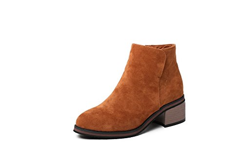 Marrone Donna Zeppa 35 ANDku01876 con Sandali Brown qwgUARP