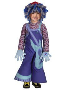 Disguise Toddlers 'Rooney Doodle Deluxe' Child Costume, Blue, 2T (Blue Peter Halloween Costume)