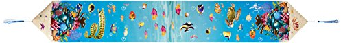 Printed Under The Sea Table Runner Party Accessory (1 count) (1/Pkg)]()