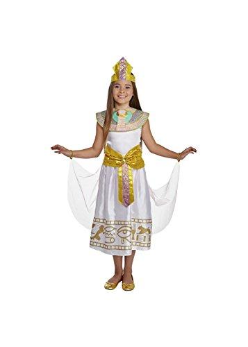 Big Girls' Cleopatra Costume White Medium / -