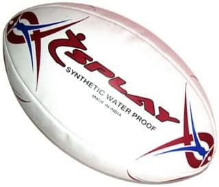 Splay Vortex – Pelota de Rugby, Color marrón y Azul: Amazon.es ...