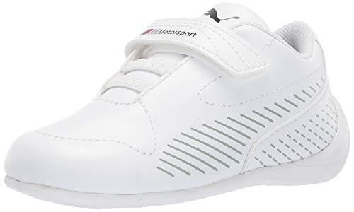 PUMA Unisex BMW MMS Drift Cat 7S Ultra Sneaker White, 11.5 M US Little Kid ()