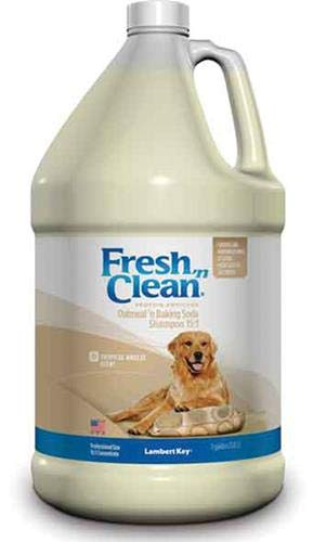 Lambert Kay Fresh 'N Clean Oatmeal 'N Baking Soda Dog Shampoo, 1-Gallon