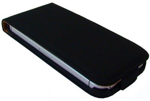 avci Base 4260310644868PU étui à rabat en cuir synthétique pour Apple iPhone 5Noir