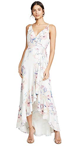 Dutch Rose - Yumi Kim Women's Meadow Maxi Dress, Dutch Roses Ivory, Floral, White, X-Small
