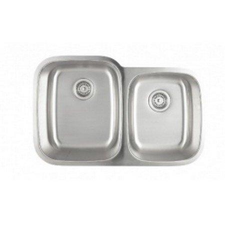 Astracast Edge Range Double Bowl Undermount Kitchen Sink