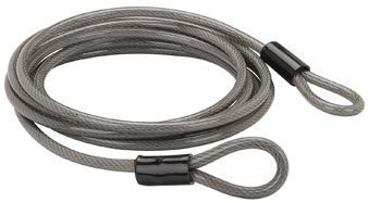15 Ft. X 3/8'' Braided Steel Security Cable by Bunker Hill Security