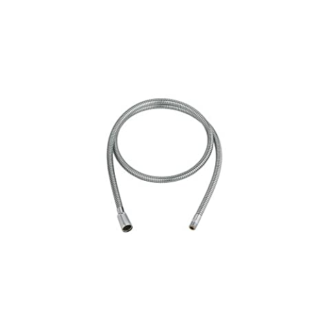 Grohe 46 092 000 Pull-Out Spray Replacement Hose, StarLight Chrome (Kitchen Faucet Spray Replacement)