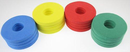 96 Soft & Safe Foam Disc Shooter Refills for Shooter Saucer Launcher Gun Toy -