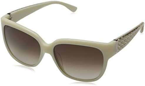 Salvatore Ferragamo Women's Cat Eye Ivory Sunglasses