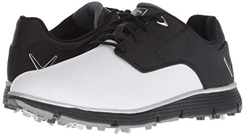 Pictures of Callaway Men's LaJolla Golf Shoe Black/ Black/White 4