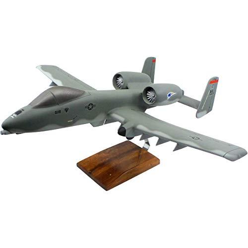 Fairchild Republic A-10A Thunderbolt (Warthog) Large Mahogany Model