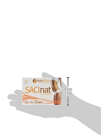 Naturtierra Sacinat - 60 Cpsulas - [Pack de 3]: Amazon.es: Alimentación y bebidas