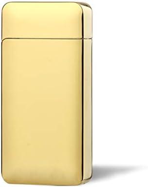 正規品【JIN LUN】 USB充電式 プラズマライター 光電センサーで点火アーク放電 ゴールド