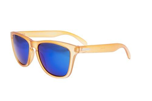 Amarillo Sol Ocean Sunglasses única de Verde transparente Gafas Talla Unisex Amarillo Color Amarillo revo Sea wBvqIrdB