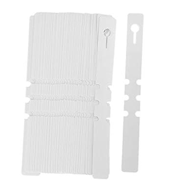 Environ 100Serre en PVC Jardinage Plante Étiquettes 20x 20x 2cm blanc