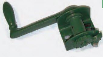 Har-Tru Tennis Court Accessories - Tennis Net - Deluxe Heavy-Duty Reel - Green by Har-Tru