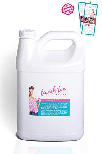Best Organic Airbrush Spray Tan Solution - (128oz)