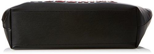 T Soft Moschino cm 11x28x38 Nero portés Pu Noir Black Sacs x épaule femme B H Love Borsa Nappa qExwTT4