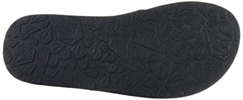 Volcom Menns Recliner Flip Flop Sandal Blå Combo