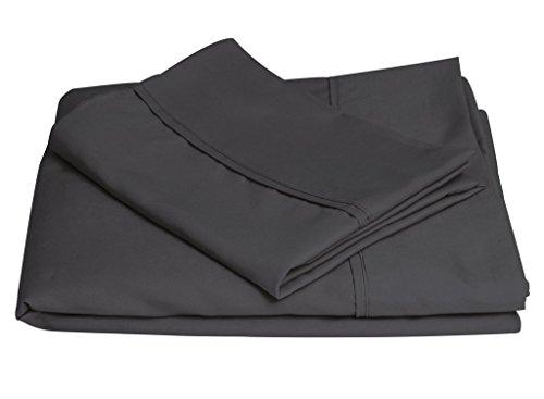 Brooklyn Bedding Twin XL Brushed Microfiber Sheet Set, Charc