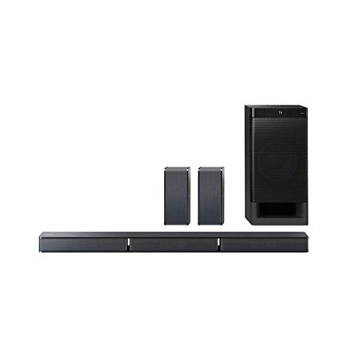 Sony HT-RT3 5.1-Kanal Soundbar mit 600W Ausgangsleistung, NFC und Bluetooth, schwarz