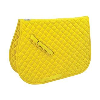 (Dover Saddlery Quilted All-Purpose Saddle Pad, Sunshine)
