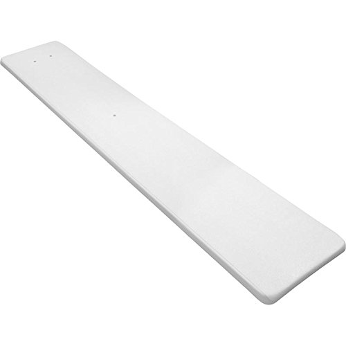 Inter-Fab DS8WW Diving Board Replacement for In-Ground Pools, Duro-Spring, (Beam White Diving Board)