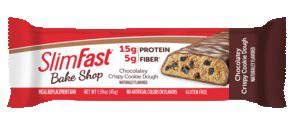 Crispy Cookies Recipe - Slimfast Meal Replacement Hunger Control Bake Shop Crispy Cookie Dough Bar 1.59 oz-Pack of 20